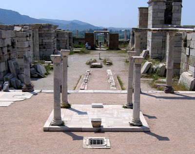 Image result for photo of grave of apostle john ephesus